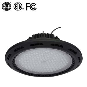 Waterproof IP65 150W UFO LED High Bay Light with Philips Driver 0-10V Dimmer Industrial Lighting pictures & photos