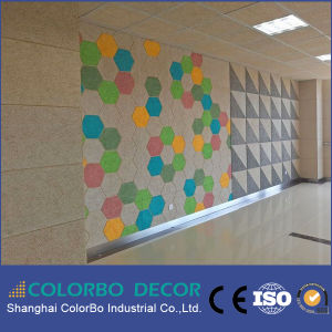 Decorative Wood-Wool Studio Acoustic Wall Panel for Building Material pictures & photos