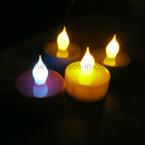Party or Restaurant Use Battery Powered Long Lifetime Romantic LED Tealight Candle pictures & photos