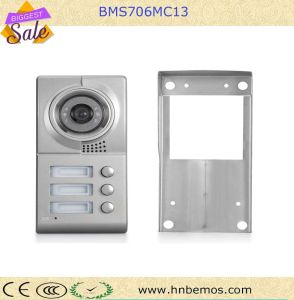 Excellent Color Video Door Phone Doorbell From Bemos for Multi-Apartment Security pictures & photos
