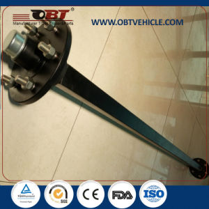 Obt Super Quality Light Duty Trailer Straight Axle with Electric Drum Brake pictures & photos