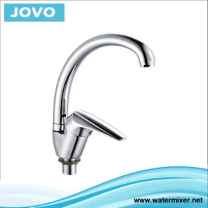 Sanitary Faucet Single Handle Kitchen Mixer Jv 72907 pictures & photos