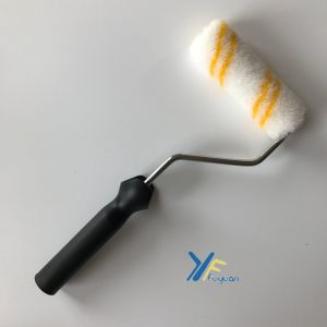 Fy 4′′ Acrylic Mini Double-Yellow Stripe Paint Roller pictures & photos