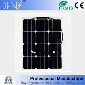 12V 40W Semi Flexible Battery Cell Sun-Power Solar Panel pictures & photos