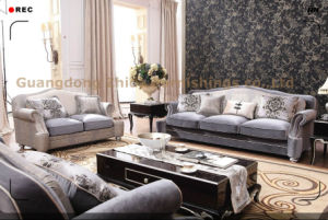 High Quality Living Room Fabric Sofa Set S6956A-2 pictures & photos