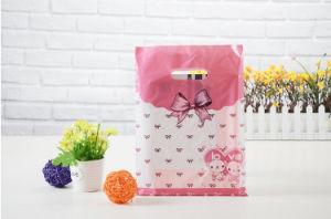 Custom Good Quality Plastic Handle Bag with Custom Logo pictures & photos