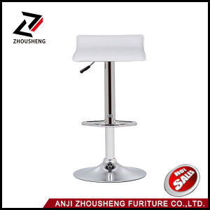 White Color PVC Modern Indoor Home Furniture Bar Stool pictures & photos