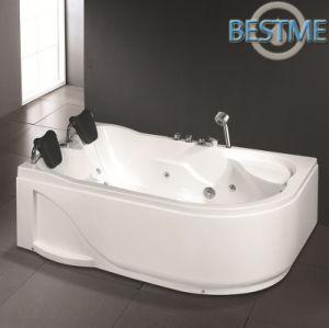 Hot Sales Triangle Acrylict Jacuzzi Massage Bathtub pictures & photos