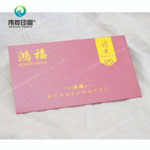 Printing Fancy Paper Hot-Stamping Envelope for Packaging Cards pictures & photos