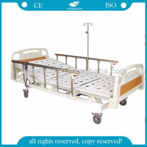 AG-Bm005 Alu-Alloy Five Function Full Patient Electric Hospital Bed pictures & photos