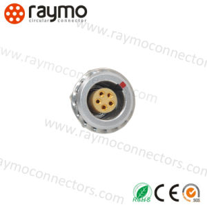 Video Camera Circular 0b 2pin Back Panel Mounting Socket/Connector pictures & photos