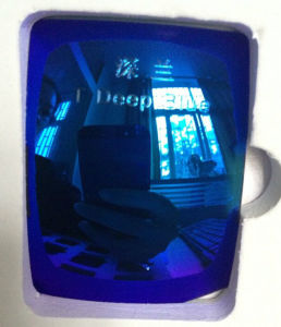 Colorful Eyeglasses Polarized Tac Lens (T Deep Blue) pictures & photos