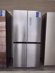 Four Door Frost Free Stainless Steel Refrigerator