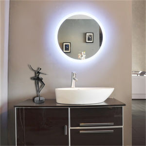 5 Stars Hotel Bathroom Vanity LED Lighted Round Lighting Mirror pictures & photos