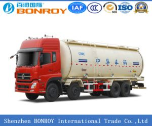 8*4 Bulk Cement Tank Truck with Electricity Generator pictures & photos