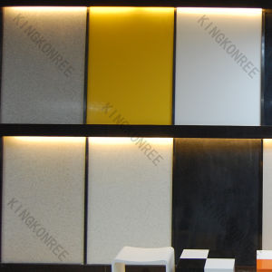 Building Materials Acrylic Solid Surface for Shower Wall Panel pictures & photos