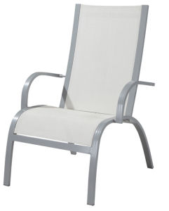 Outdoor Textilene Lounge Chair for Garden (LN-1150) pictures & photos