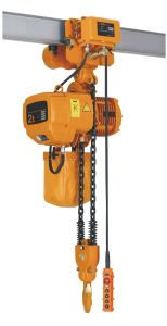 Electrical Chain Hoist with Electric Trolley pictures & photos