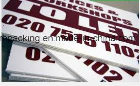 1220mm*2440mm *2mm 3mm 4mm 5mm PP Corrugated Plastic Sheet/Correx/Coroplast/Corflute Directly Printing with Screen Printing/Digital Printing pictures & photos