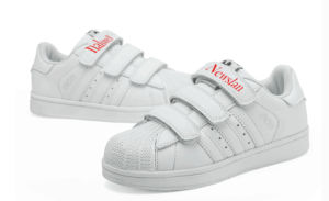 Flat Popular Kid′shoes with Rubber Outsole (CH-011) pictures & photos