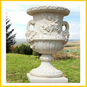 Hand Carving Stone Outdoor Garden Planter pictures & photos