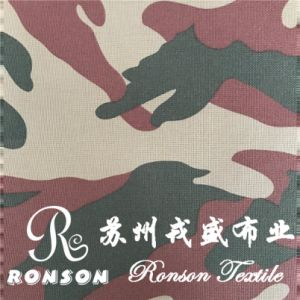 Nylon6 Cordura Printed Fabric for Military Bags, Waterproof, High Tense, PU Coated pictures & photos