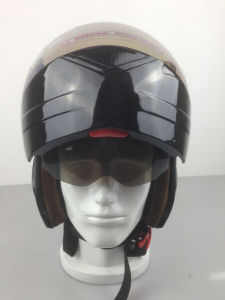 2017 DOT Approved Double Visors Motorcycle Full Face Helmet pictures & photos