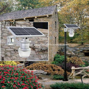 Solar Apple/Peach Street Light All in One for Garden pictures & photos