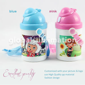 Heat Press Printing Kid Water Bottle with Sublimation Blank pictures & photos