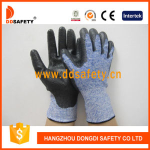 Ddsafety 2017 PU Coated Glove Cut Resistant pictures & photos