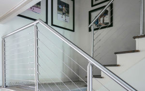 Porch Stainless Steel Wire Cable Railing pictures & photos