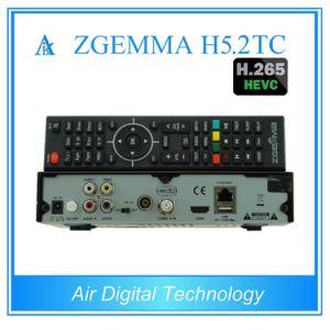 Worldwide HDTV Box Zgemma H5.2tc Linux OS E2 Decoder Hevc/H. 265 DVB-S2+2*DVB-T2/C Dual Tuners pictures & photos