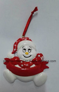 Polyresin Christmas Hanging Ornaments for Kids pictures & photos