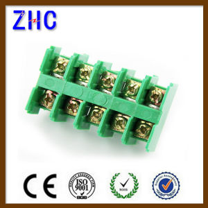 Jf5 Series DIN Rail Plate Type Screw Clamping Terminal Block pictures & photos