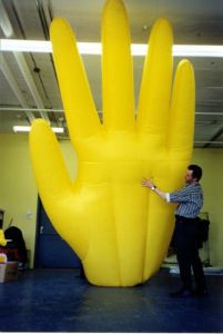 Inflatable Products Giant Inflatable Hand for Advertising