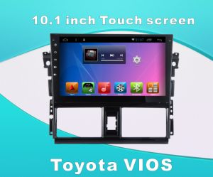 Android System Car DVD GPS for Toyota Vios 10.1 Inch Touch Screen with Bluetooth/WiFi/TV/USB pictures & photos