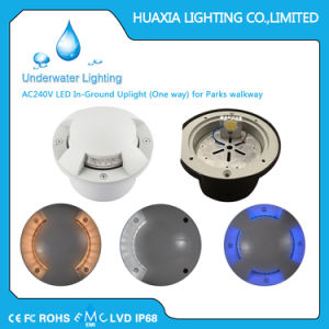 AC220V Neutral White 4500k in-Ground Uplight (One way) for Parks Walkway Aluminum Case pictures & photos