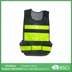 The New Mesh Cloth Reflective Vest Warning Reflective Safety Vest pictures & photos