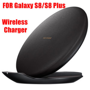 Qi Wireless Charger S8 Quick Charging Vertical Table Fast Charger for Samsung Galaxy S8 S8 Plus pictures & photos