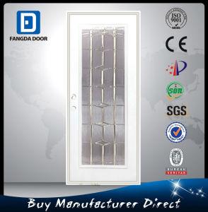 Fangda Internal Glass Patio French Steel Metal Door pictures & photos