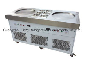 Hot Selling! Thailand Style Fry Ice Cream Roll Machine pictures & photos