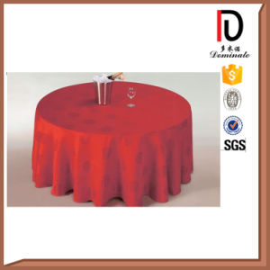 Luxuried Rounded Ruffled Table Cloth Br-Tc017 pictures & photos