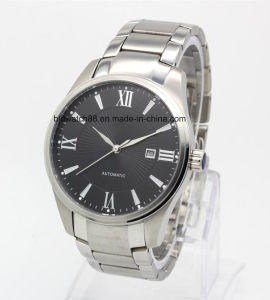 Men′s Sporting Stainless Steel Chain Bracelet Watches with Mechanical Movement pictures & photos
