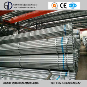 Manufacturer Pre-Galvanized Carbon Steel Gi Pipe Q195 pictures & photos