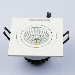 Warm White 7W 9W COB LED Square Downlight pictures & photos
