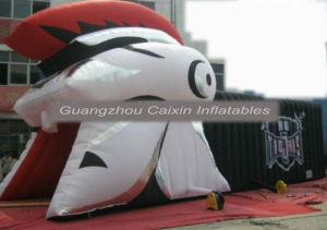 Promotion Football Inflatable Knight Mascot Tunnel for Sports Game pictures & photos