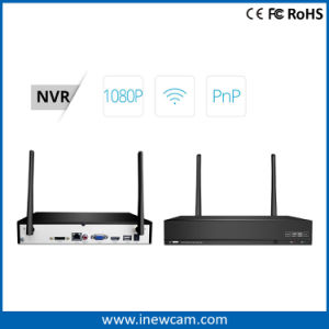 1080P 4CH Wireless NVR Security CCTV Camera System pictures & photos