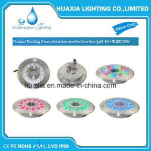 High Power LED IP68 Stainless Steel Underwater Fountain Light with Nozzle pictures & photos