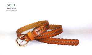 Bonded Fashion Belt for Lady (HOLE) (KY5385) pictures & photos
