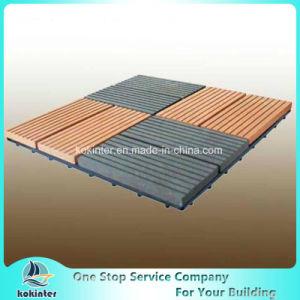 WPC DIY Flooring Tile Slip Resistance DIY Interlocking Floor Tiles pictures & photos